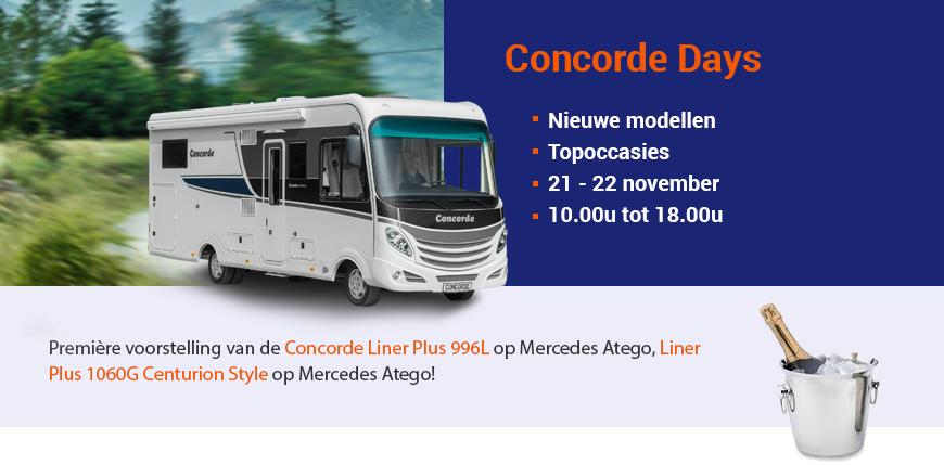 Alpha Motorhomes Concorde Days 2015
